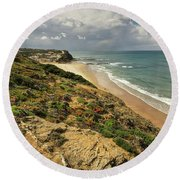 Monte Clerigo Round Beach Towel
