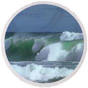 Monterey Surf Round Beach Towel
