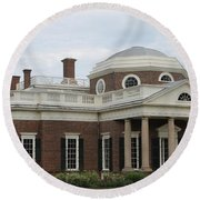 Monticello Round Beach Towel