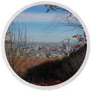 Montreal Round Beach Towel