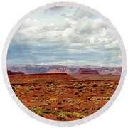 Monument Valley, Utah Round Beach Towel