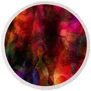 Moods In Abstract Round Beach Towel
