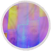 Mopop Reflections 2 Round Beach Towel