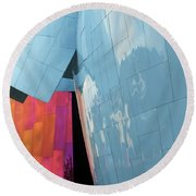 Mopop Reflections Round Beach Towel