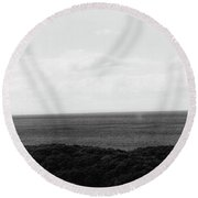 Moray Firth Round Beach Towel