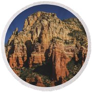 Mormon Canyon Details Round Beach Towel
