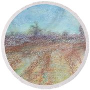 Morning Has Broken  Round Beach Towel