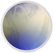 Morning Light Round Beach Towel