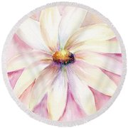 Morning Mist Round Beach Towel
