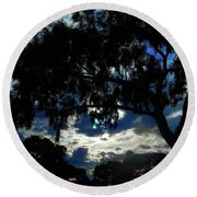 Round Beach Towel featuring the photograph Morning Mood by Mark Blauhoefer