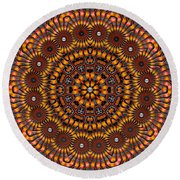 Morocco Round Beach Towel