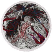 Morpheus Round Beach Towel by Robert Nickologianis