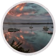 Morrow Bay Round Beach Towel