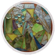 Mosaic Round Beach Towel