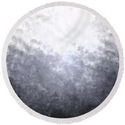 Mosaic Ombre Round Beach Towel