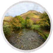 Mosedale Beck Round Beach Towel