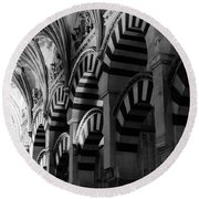 Mosque Cathedral Of Cordoba 6 Round Beach Towel