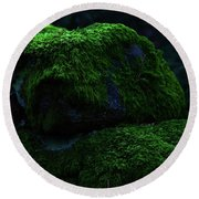Moss Round Beach Towel