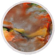 Mother Nature Round Beach Towel