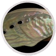 Mother Of Pearl Round Beach Towel