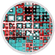 Motherboard 2 Round Beach Towel