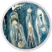 Mothers Round Beach Towel
