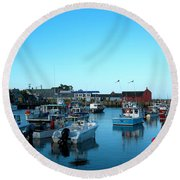Motif Number 1 Round Beach Towel