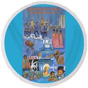 Motown Commemorative 50th Anniversary Round Beach Towel