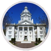 Moultrie Courthouse Round Beach Towel