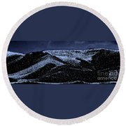Mount Carmel Round Beach Towel