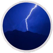Mount Franklin Lightning Round Beach Towel