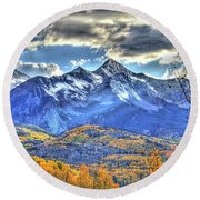 Mount Wilson Round Beach Towel