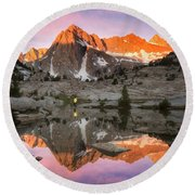 Mountain Air  Round Beach Towel