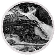 Mountain Brook Round Beach Towel