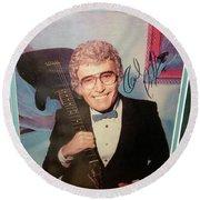 Mr. Sam Phillips Sun Records  Round Beach Towel