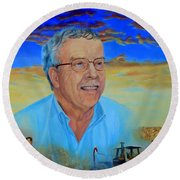 Mr. Schad Round Beach Towel