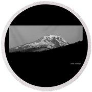 Mt. Adams-pahto Round Beach Towel