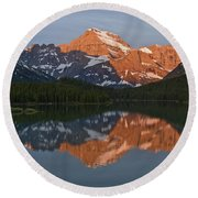 Mt. Gould Round Beach Towel