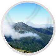 Round Beach Towel featuring the photograph Mt Jefferson by Alana Ranney
