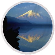 1m4907-v-mt. St. Helens Reflect V  Round Beach Towel