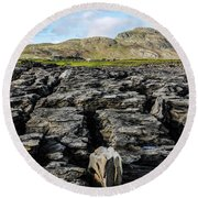 Muckross Coast Round Beach Towel