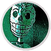 Round Beach Towel featuring the photograph Muertos 4 by Pamela Cooper