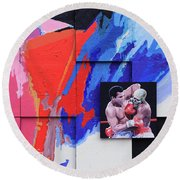 Muhammad Ali's Last Fight Round Beach Towel