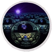 Multiverse Round Beach Towel