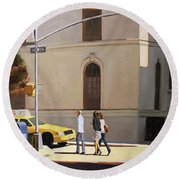 Murray Hill Round Beach Towel