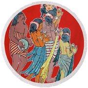 Musical Concert Round Beach Towel by Ragunath Venkatraman