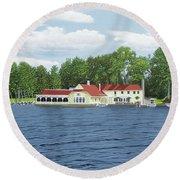 Muskoka Lakes Golf And Country Club Round Beach Towel
