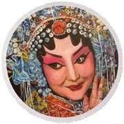 My Fair Lady Round Beach Towel