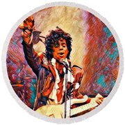 My Name Is    -  Prince Round Beach Towel