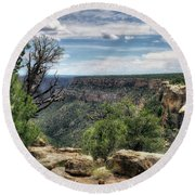 Round Beach Towel featuring the photograph Mysteries by Jim Hill